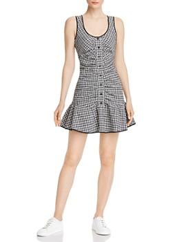 Parker - Yael Plaid Mini Dress
