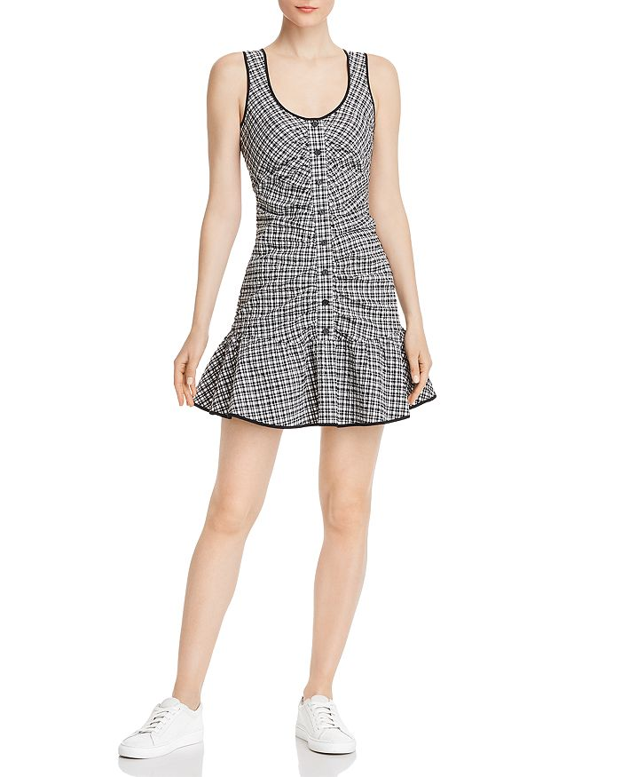 Parker - Yael Plaid Mini Dress