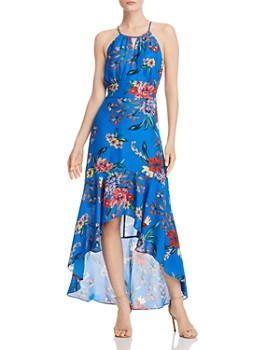Parker - Davina Floral High/Low Dress