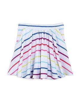 CHASER - Girls' Knit Striped Skater Skort - Little Kid, Big Kid