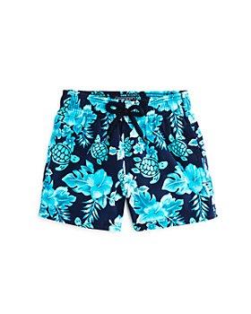 Vilebrequin - Boys' Jirise Jii Turtle-Print Swim Shorts - Little Kid, Big Kid