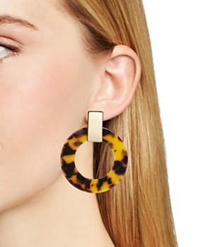 BAUBLEBAR - Marisela Frontal Hoop Earrings