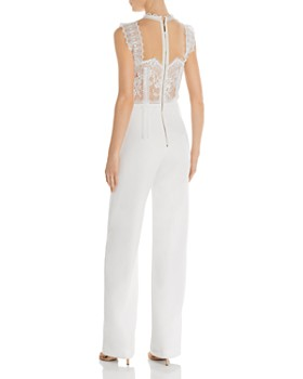 BRONX AND BANCO - Charlotte Lace-Bodice Jumpsuit