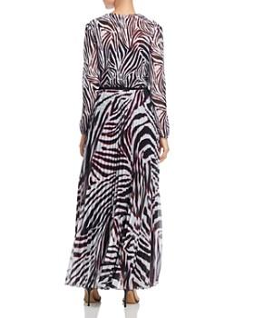 Escada Sport - Dyma Zebra-Print Maxi Dress