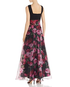 Eliza J - Floral Organza Gown