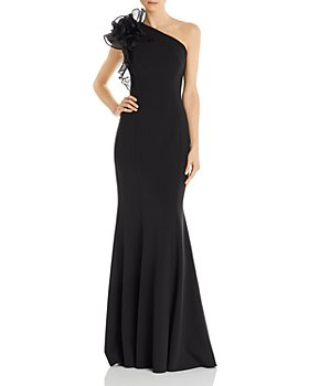Aidan Mattox - One-Shoulder Gown