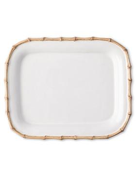 """Juliska - Classic Bamboo 12"""" Rectangular Platter"""