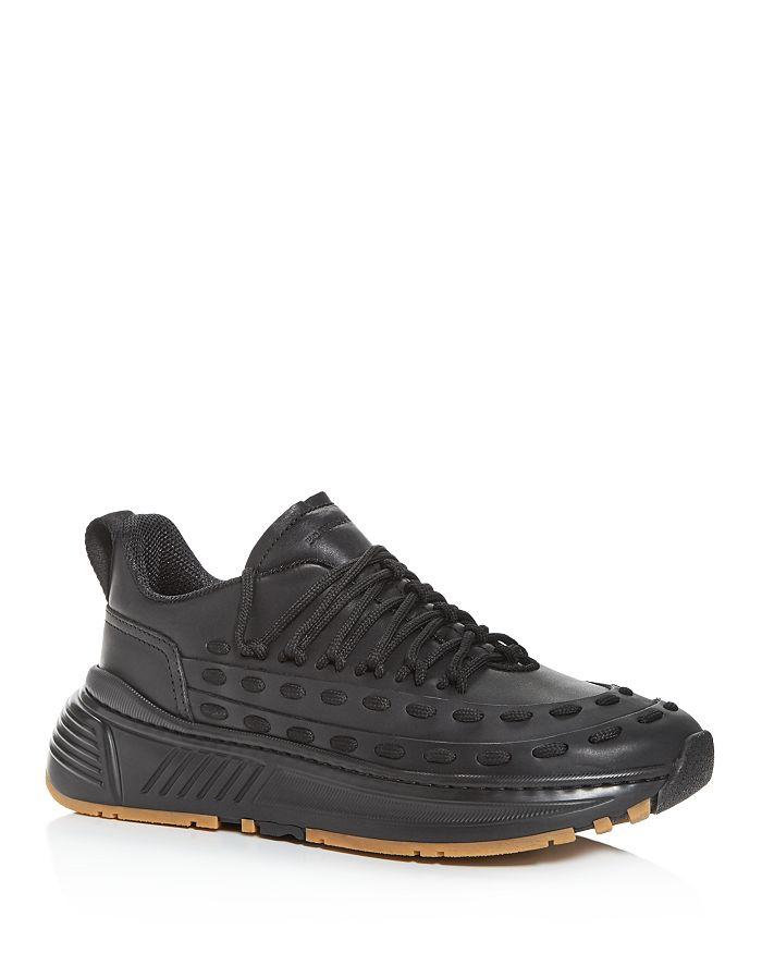 Bottega Veneta - Men's Lace Speedster Leather Low-Top Sneakers