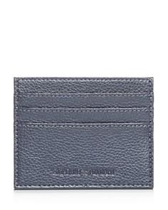 Armani - Vitello Bottalato Leather Card Case