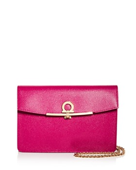 Salvatore Ferragamo - Gancini Leather Crossbody