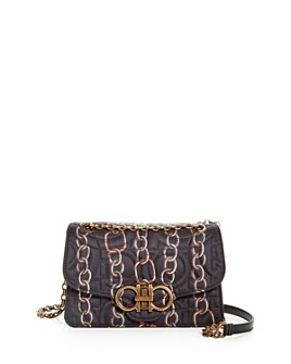 Salvatore Ferragamo - Large Gancini Quilted Chainlink Crossbody