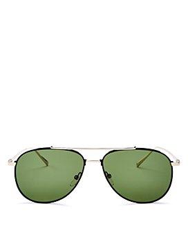 Salvatore Ferragamo - Men's Aviator Sunglasses, 60mm