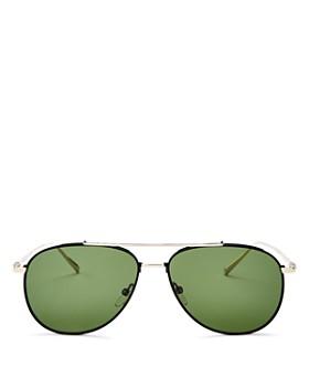 d3a98b61256 Salvatore Ferragamo - Men's Aviator Sunglasses, ...