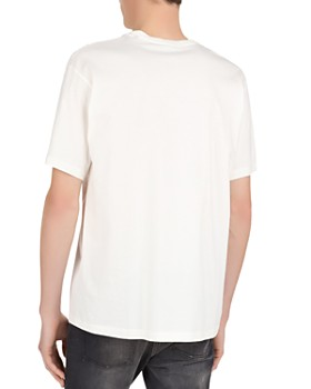 The Kooples - Future Print Cotton Crewneck Tee