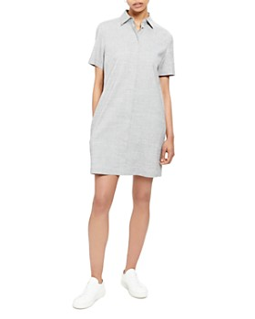 Theory - Mini Shirt Dress