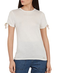 Ted Baker - Colour by Numbers Caneiro Ruched-Sleeve Tee