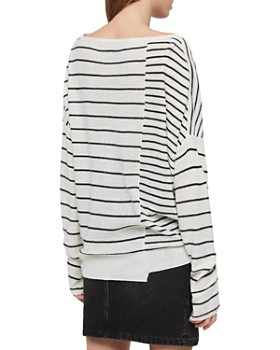 ALLSAINTS - Cali Oversize Striped Sweater