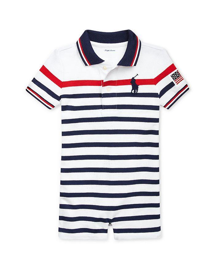 c7f5d73d3 Ralph Lauren Boys' Striped Polo Shortall - Baby | Bloomingdale's