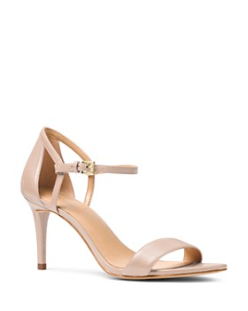 MICHAEL Michael Kors - Women's Simone Leather High-Heel Sandals