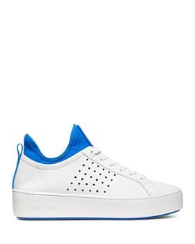 MICHAEL Michael Kors - Women's Ace Leather Low-Top Sneakers