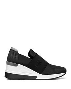 MICHAEL Michael Kors - Women's Felix Nylon Slip-On Sneakers