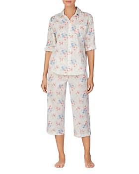 Ralph Lauren - Floral-Print Capri Pajama Set