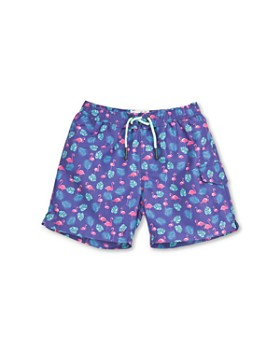 Sovereign Code - Boys' Flamingo Print Swim Trunks - Little Kid, Big Kid
