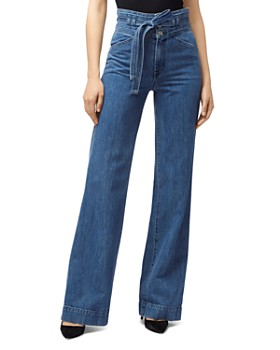 J Brand - Sukey High-Rise Flared-Leg Jeans in Electrify