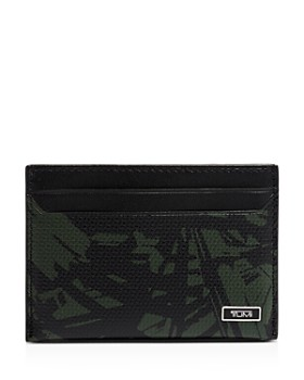 Tumi - Monaco Embossed Leather Slim Card Case