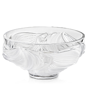 Lalique Dinnerwares POISSONS COMBATTANTS LARGE BOWL