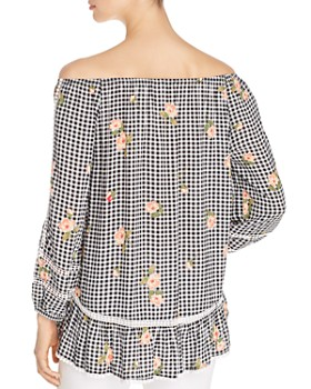 Single Thread - Off-the-Shoulder Peasant Blouse