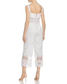 Saylor - Floral Lace Jumpsuit