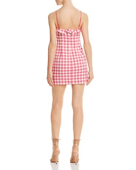 Finders Keepers - Thalia Ruffled Gingham Mini Dress