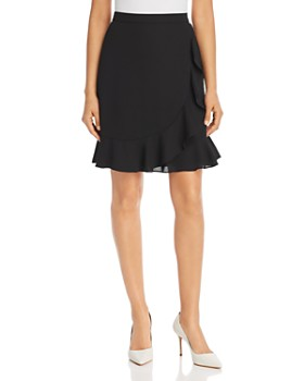 KARL LAGERFELD Paris - Ruffled Faux-Wrap Skirt