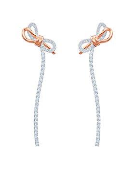 Swarovski - Lifelong Bow Earrings