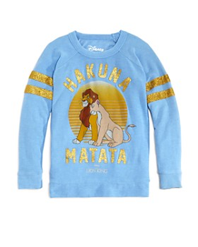CHASER - Girls' Hakuna Matata Sweatshirt & Sweatpants, Little Kid, Big Kid - 100% Exclusive