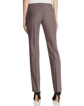 BOSS - Titana Virgin Wool Straight-Leg Pants