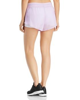 Alo Yoga - Ambience Mesh-Overlay Shorts