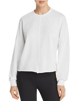 AQUA - Raw-Edge Sweatshirt - 100% Exclusive