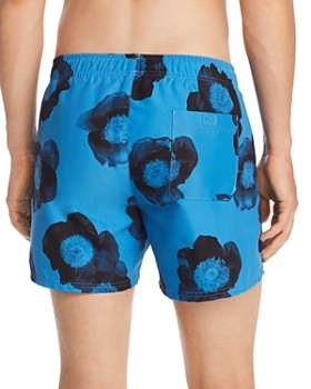 HUGO - Bonaire Floral-Print Swim Shorts