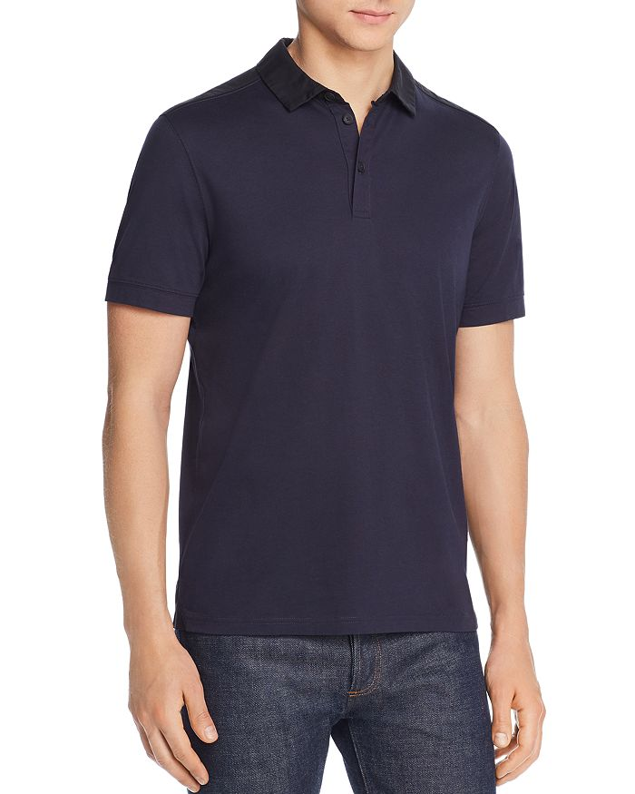 BOSS - Pickout Play Color-Block Regular Fit Polo Shirt