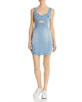 GUESS - Sadie Body-Con Denim Dress