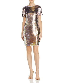 Aidan by Aidan Mattox - Sequin Sheath Dress