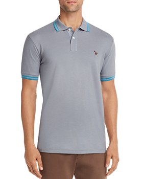 PS Paul Smith - Embroidered Zebra Regular Fit Polo Shirt