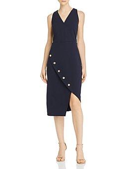 nanette Nanette Lepore - Button-Detail Dress