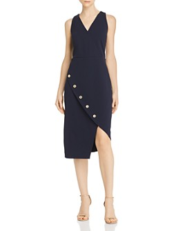 nanette Nanette Lepore - Button-Detail Dress