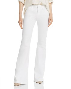 PAIGE - Genevieve Jeans in Crisp White - 100% Exclusive