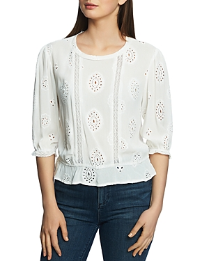 1.state Tops EYELET TOP