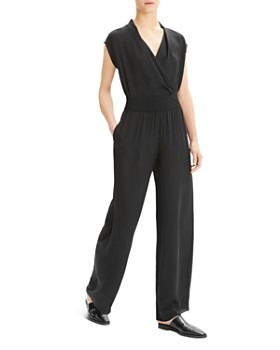 Theory - Silk Wide-Leg Pants
