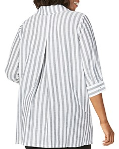 Foxcroft Plus - Skye Striped Tunic